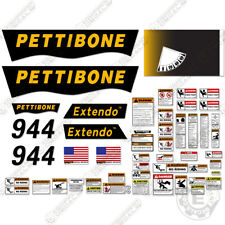 Pettibone 1144 Decal Kit Telescopic Forklift Warning Safety Replacement Stickers