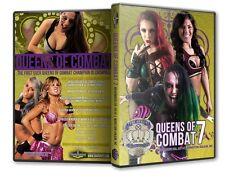 Queens of Combat Wrestling 7 DVD, Havok Candice LeRae PWG SHine TNA Shimmer