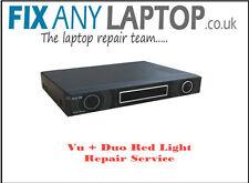 Vu+ Duo Red Light Repair Service
