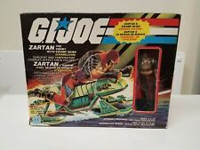 GI JOE 1984  ZARTAN & Swamp Skier Canadian Canada MISB Factory Sealed Box New!