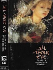 ALL ABOUT EVE SCARLET AND OTHER STORIES CASSETTE ALBUM Folk Rock, New Wave, Goth