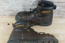 Caterpillar F-2413-05 Men Steel Toe Work Boots Size US 12  Construction CAT