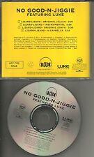 NO GOOD N JIGGLE LUKE CAMPBELL Lizard CLEAN & INSTRUMENTAL PROMO CD 2 Live Crew