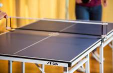 STIGA Space Saver Compact Table Tennis Table for Authentic Play at Regulation