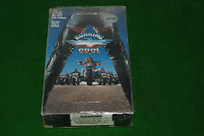 RUNNING COOL biker movie   VIDEO VHS NTSC USA FORMAT  deleted video rare