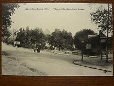 CPA - ALLIER - NERIS-LES-BAINS - place entre les deux parcs