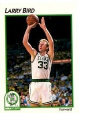 1991 Larry Bird #2 Basketball card Boston Celtics Official NBA card