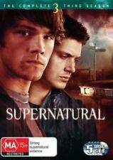 SUPERNATURAL (COMPLETE SEASON 3 - DVD SET SEALED + FREE POST)