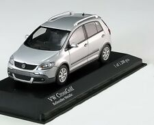 VW VOLKSWAGEN CROSS GOLF 2006 REFLEX SILVER MINICHAMPS 400054370 1/43 SILBER