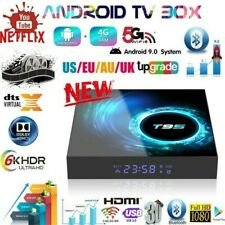 T95 Android 10.0 TV box   Quad Core HD WIFI with 12 months gift