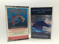 MUSIC STEVE MILLER BAND Greatest Hits 1974-78 & Wide River Cassettes Tested