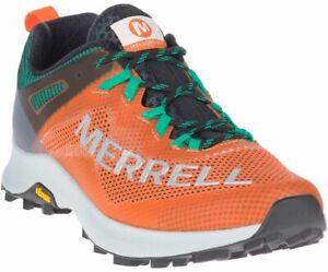 Merrell MTL Long Sky Trail Running Shoe Mens Size 9 Orange NIB