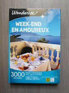 "Coffret Wonderbox ""Week-end en amoureux"""