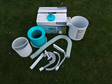 INTEX Oberflächenskimmer DELUXE Skimmer Easy & Frame Poolhalterung Pool , (K)
