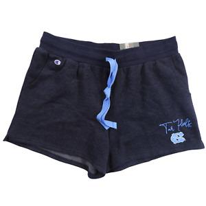 "NWT Champion Blue on Blue ""North Carolina Tar Heels"" Lounge Shorts Women's Large"