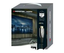 Monster 75 ft HDMI Platinum Fiber Optic WHV11011BLK 4K UHD/8K Ready Brand New