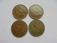 New Zealand, Penny's 1945 1946 1947 1949, Excellent Condition.