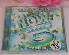 Now That's What I Call Music 5 19 Tracks Gently Used CD 2000 Sony Music