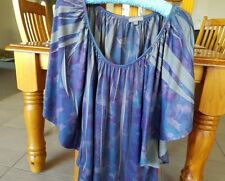 Cotton Blend Tunic Casual Multi-Colored Tops & Blouses for Women