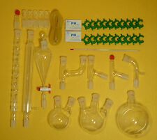 lab glassware kit,organic chemistry lab glassware kit 24/29 28pcs