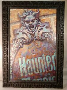 Art Of Disney 'Haunted Mansion' Limited Edition Giclee Print By Greg McCullough