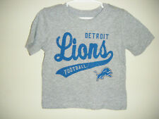 NFL Detroit Lions Infant Baby Size 12 - 18 Months Tee T - Shirt Gray