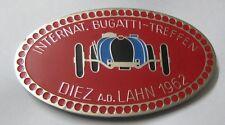 INTERNATIONAL BUGATTI TREFFEN CAR GRILL BADGE EMBLEM LOGOS METAL ENAMLED BADGE