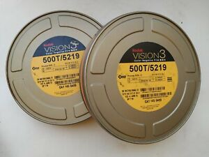 TWO ROLL KODAK VISION 3 500T Color Negative Film 5219 / 35 mm x 122 (400 ft)
