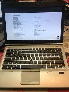"""HP EliteBook 2570p INTEL Core i3 @2.4 GHz 12,5"""" """"Funzionante incompleto"""""""