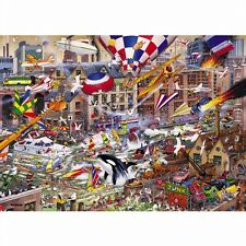 GIBSONS JIGSAW PUZZLE 1000 PIECES I Love the Weekend by Mike Jupp G787