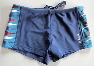 New Speedo Strip Swim Trunks Swimshorts Size 3 132419253