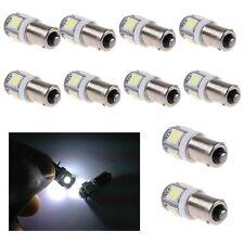 10x T11 BA9S T4W 5050 SMD 5 LED Ampoule Lampe BLANC XENON VEILLEUSE Spot Voiture