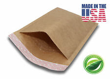 """100 #0 6X10 Brown Kraft Bubble Mailers Padded Envelopes 6""""x10"""""""
