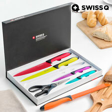 Cuchillos de acero inoxidable Swiss Q High Quality (6 piezas)