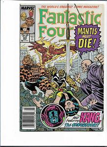 FANTASTIC FOUR#324 VF/NM 1989 KANG THE CONQUEROR MARVEL COMICS