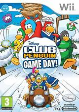 Club Penguin Game Day Wii NEW Sealed FULL Original UK Version