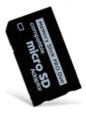Memoria Micro SD a STICK PRO DUO ADAPTADOR PARA PSP 1000 E-1001 2000 3003 3001 3000