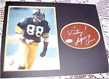 Pittsburgh Steelers Lynn Swann SIGNED 11x14 Football Display JSA CERT FREE SHIP