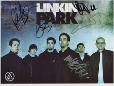 Linkin Park SIGNED Photo 1st Generation PRINT Ltd, No'd + Certificate (3)
