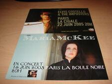 ELVIS COSTELLO - MARIA MC KEE !!!!!! PUBLICITE / ADVERT