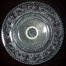 Old Crystal Footed Silverplate COMPOTE MALAYSIAN DISH