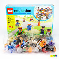 RARE LEGO Education 9224 Duplo Community People RETIRED Sealed Bags, Box Damage