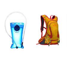Mochila de Hidratacion IMPERMEABLE de Ciclismo Running + Bolsa Agua 2L 4354 4351