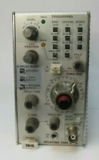 Tektronix Plug In 7b15 Delaying Time Base Pulled From A Working Unit