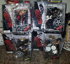 Motley Crue McFarlane Figurine Set (New!) + Carnival of Sins Dvd! Fan Special!