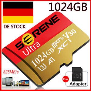 Micro SD Card Speicherkarte 256GB 512GB 1024GB 325MB/s Class10 4K Memory Card