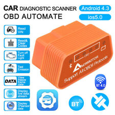 ELM327 Bluetooth BT4.0 OBD2 OBDII Car Auto Diagnostic Code Reader Scanner Tool