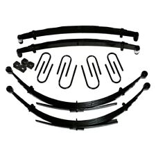 """For Chevy K10 Suburban 68-72 Skyjacker 8"""" Softride Front Lifted Leaf Springs"""
