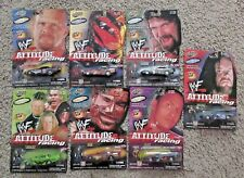 WWF ATTITUDE RACING ROAD CHAMPS LOT MANKIND UNDERTAKER STONE COLD DX ROCK WWE