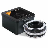 K&F Concept Lens Mount Adapter with Aperture Control Ring for Nikon to Fuji X US
